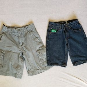 Other - 2 pairs of boys sz 10 shorts